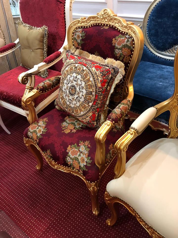 Mẫu ghế tân cổ điển 2019